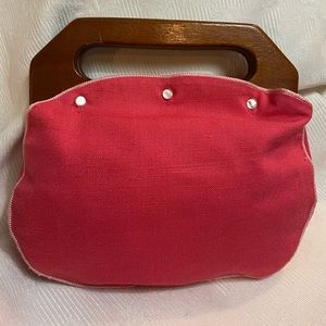 The Bee Hive Baltimore - Vintage Bermuda bag! Pink